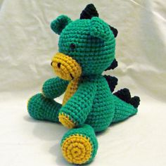 Dragones tejidos a crochet