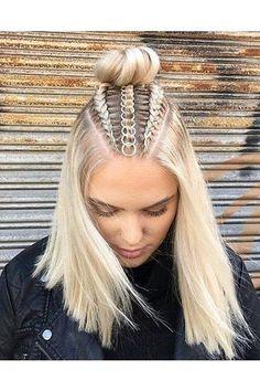 Modèles de tresses impeccables à tenter sur cheveux longs | Coiffure simple et facile