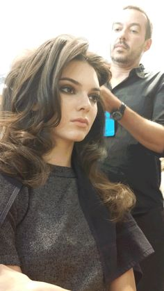 Kendall gets glammed up at NYFW.