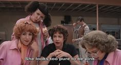 Grease: Too pure to be pink