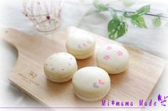Mi*mama: decorated macarons