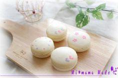 Mi*mama: decorated macarons