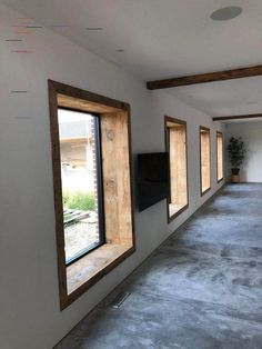 Amazing Timber Cladding Ideas to Spike up Your Building Design Home Remodel Costs, Interior Architecture, Interior Design, Timber Cladding, Interior Windows, Window Design, Home Decor Furniture, Cheap Home Decor, Windows And Doors
