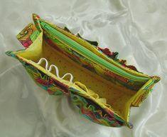 Keeps your handbag organized! the Porta-Pockets Purse Insert | Studio Kat Designs