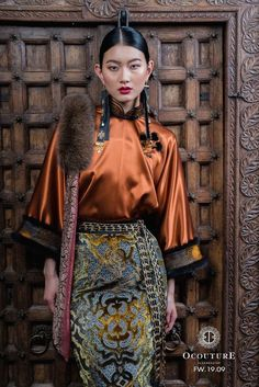 new style clothes Oriental Fashion, Ethnic Fashion, Asian Fashion, Fashion Art, High Fashion, Fashion Beauty, I Love Fashion, Fashion Outfits, Fashion Design