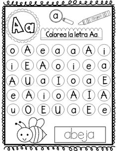 Las Cinco Vocales:  No Prep Spanish Literacy Center  from Bilingual Teacher World on TeachersNotebook.com -  (48 pages)  - An awesome print and go Spanish Literacy Center.  This no prep resource has everything you need for your little ones to learn las cinco vocales.