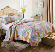 Firework Queen to King Bed Coverlet Set - Shop