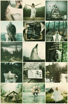 Open book w/ paiting Boho Aesthetic, Witch Aesthetic, Aesthetic Collage, Aesthetic Green, Foto Fantasy, Fantasy Art, Wiccan, Witchcraft, Season Of The Witch