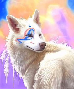 Cherokee Indian Spirit Guide | full-blood cherokee indian north georgia spirit guides dog white wolf