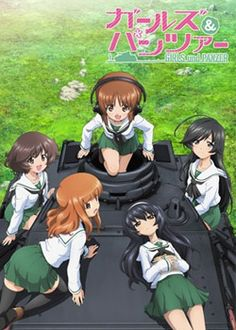 Girls und Panzer by Actas -- At least it's not as weird as Upotte!