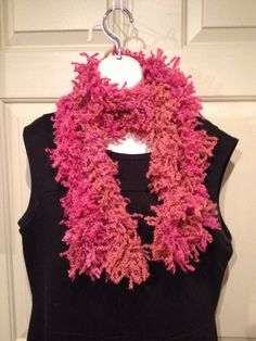 Boutique Fizzle Ruffle Scarf-Taffy on Etsy, $16.00