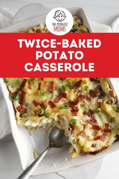 Serve yourself a slice of cheesy, bacon-adorned goodness with this versatile dish ideal for those days where you need a good hearty meal. With help from our partners at Wada Farms, we've created this Twice Baked Potato Casserole. This yummy casserole is perfect as a side dish, for potlucks or as part of your Thanksgiving feast. Grab this recipe from The Produce Moms!