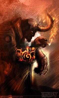 Comic Character Inspiration: Hellboy | Abduzeedo Design Inspiration & Tutorials