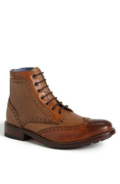 Ted Baker London 'Sealls' wingtip boots