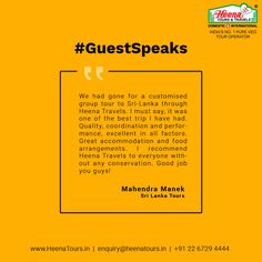 Thank you so much Mahendra Manek, Such kind words motivates us to make even more wonderful holidays for our loving customers.