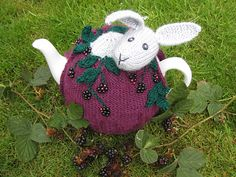 Ravelry: Rabbit in the Brambles Tea Cosy pattern by Lindsay Mudd
