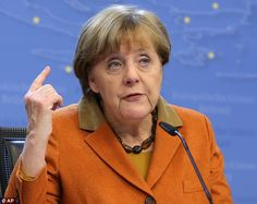 Losses: It is predicted to be uncomfortable viewing for Merkel's Christian Democratic Union when polls close in Baden-Wuerttemberg, Rhineland-Palatinate and Saxony-Anhalt today
