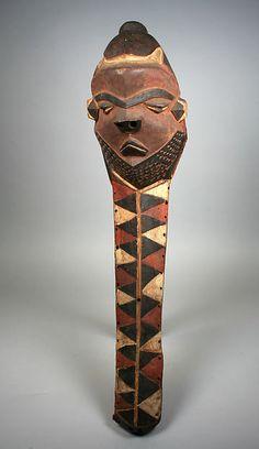 Mask (Giwoyo or Kiwoyo). Pende people, Democratic Republic of Congo, 20th century.