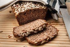 Brot mit Flohsamenschalen