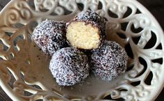 gotta love this! RAW Lamington Truffle Thermomix recipe from @skinnymixers