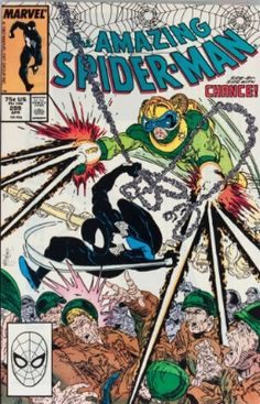 The Amazing Spider-Man #299 (1988): First Todd McFarlane art, first brief Venom appearance.