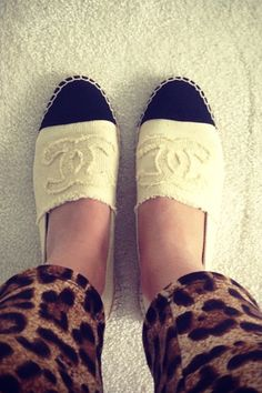 Chanel Espadrilles - need these in my life!