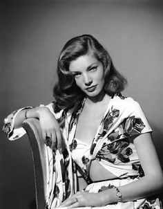 So elegant! Betty Joan Perske or Lauren Bacall or Mrs. Humphrey Bogart