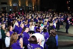 Hundreds of women took to the streets of Falmouth on Saturday night to raise money for Children's Hospice South West's (CHSW) through the annual Moonlight Memory Walk.  The sponsored five mile walk around Falmouth attracted almost 400 ladies who pledged to raise a fantastic £25,000 for the local children's charity.   #CHSWMoonlight #MoonlightWalk #Moonlight walk #Falmouth