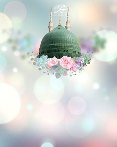 Mecca Wallpaper, Islamic Quotes Wallpaper, Islamic Images, Islamic Art, Muslim Pictures, Pics For Dp, Muslim Beauty, Black Aesthetic Wallpaper, Madina