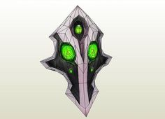 DotA 2 - Rubick the Grand Magus Mask Ver.3 Free Papercraft Download - http://www.papercraftsquare.com/dota-2-rubick-the-grand-magus-mask-ver-3-free-papercraft-download.html