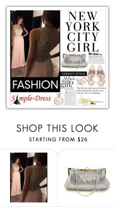 """Simple-Dress.5"" by samirhabul ❤ liked on Polyvore featuring Zara, Kate Spade and simpledress"