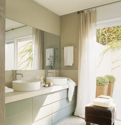 Soft Tones in Spain Double Vanity, Interior Inspiration, My House, Sweet Home, Design, Furniture, Home Decor, Irene, Bathrooms