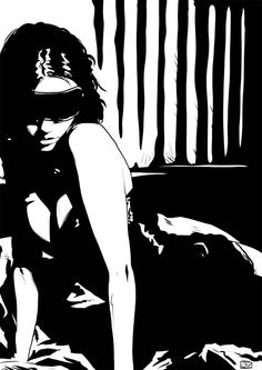 Illustration Gallery 6: Girls by Giuseppe Cristiano, via Behance