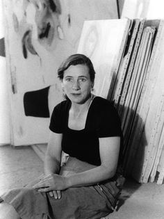 Agnes Martin at her studio in New Mexico, 1953 (Photograph: Mildred Tolbert)