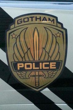 Gotham City Police Vehicles on the set of Batman v Superman: Dawn of Justice.