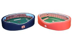 Too bad I'm not a sports fan, these are AWESOME! Stadium Cribs NCAA SEC and ACC Stadium Pet Beds from $59.99–$79.99