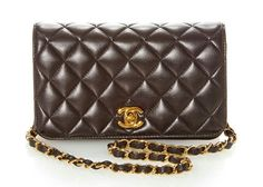 55a0495b4ef2 Vintage Chanel Black Mini Full Flap Bag from What Goes Around Comes Around  by Vintage Chanel