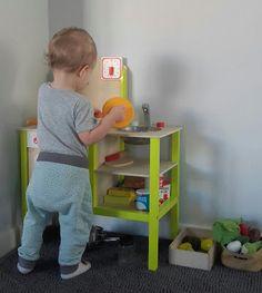 mamoza: Zabawkowa kuchnia dla malucha