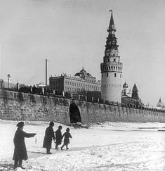 Proud boy/small fish/frozen river/Moscow/ca. 1900