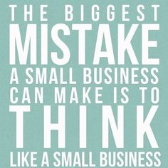 Small business is big business! Act like it! Setting up an LLC or Corp will gain you credibility and help you put tax strategies in place to save you money #monday #motivation #irs #njbiz #njbusiness