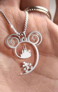 dad71eb03 263 Best Mickey Mouse jewelry images in 2019 | Disney Jewelry ...