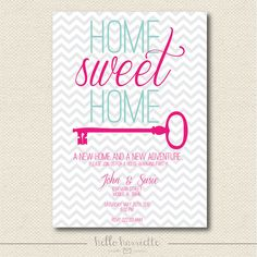 PRINTABLE Home Sweet Home House Warming by helloharriette on Etsy, $15.00