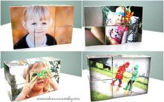 DIY Picture Blocks: a memorable gift that won't break the budget!