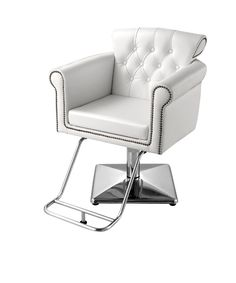 Cornwall White Salon Chair