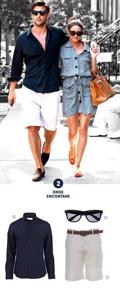 Couple Outfits, Short Outfits, Casual Outfits, Mode Masculine, Fashion Moda, Mens Fashion, Stylish Men, Men Casual, Johannes Huebl
