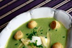 Zupa krem z groszku | Pea creme soupCodogara.pl http://www.codogara.pl/8226/zupa-krem-z-groszku/