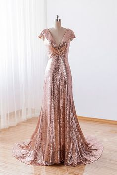 sequin bridesmaid dress, gold bridesmaid dresses, cheap bridesmaid dresses, custom bridesmaid dresses, long bridesmaid dresses, 16046 · OkBridal · Online Store Powered by Storenvy