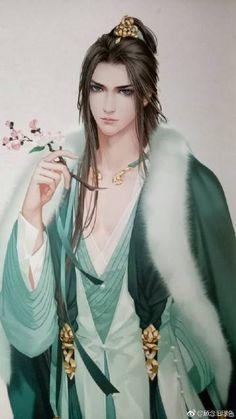 Ancient Chinese gentleman   ARTIST: 顧念舊景色