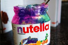 This is a galaxy nutella!!!