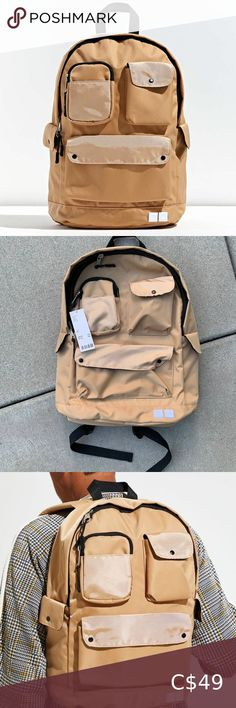 bnwt URBAN OUTFITTERS multipocket utility backpack brand new with tags never worn one size retails for $71!! thru app: $48 thru etransfer: $40 soo cool superr trendyy Use code TRENDY_VIC for a FREE $15 Poshmark credit when you sign up! Urban Outfitters Bags Backpacks Fur Backpack, Bucket Backpack, Crochet Backpack, Backpack Brands, Black Leather Backpack, Mini Backpack, Pink Leather, Black Suede, Brown Backpacks